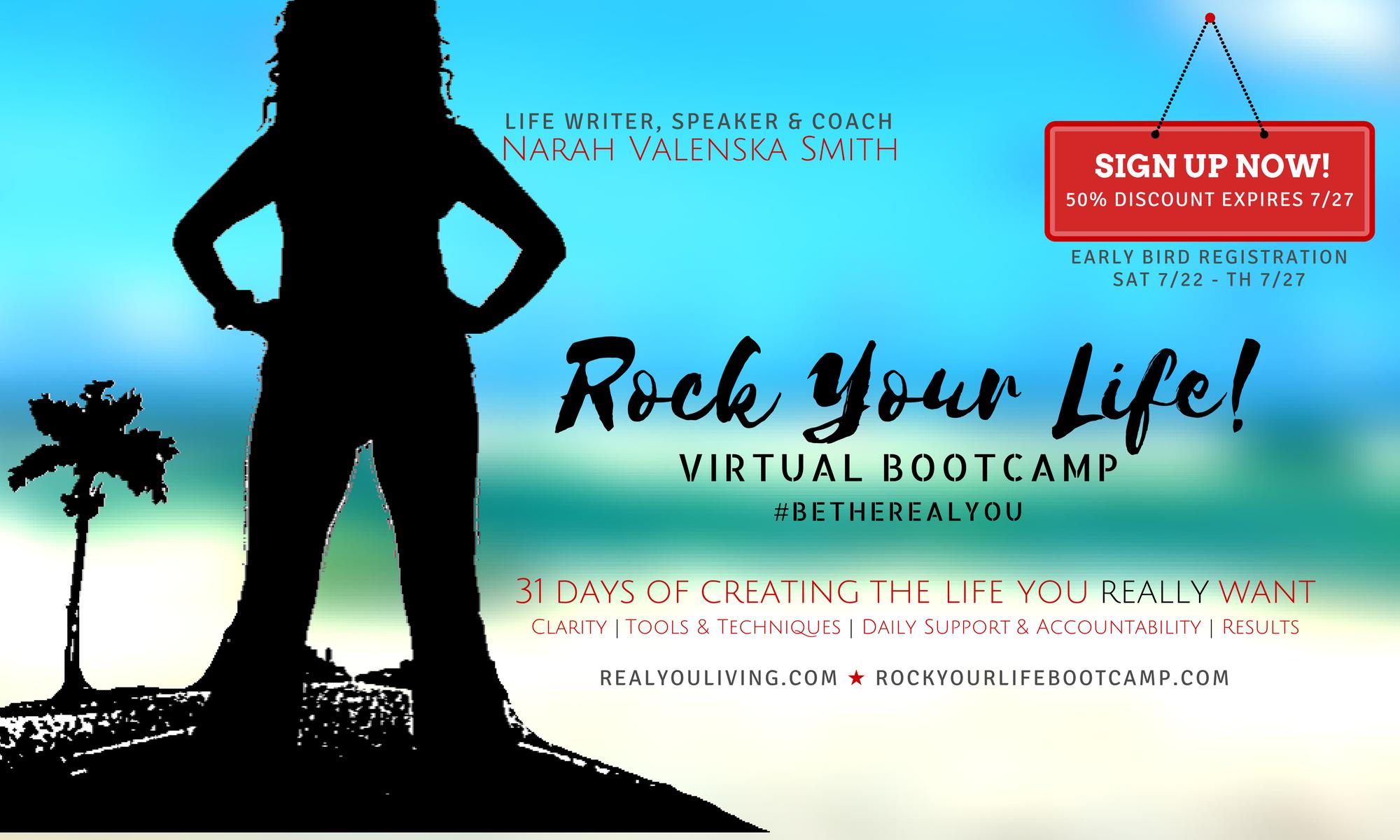 Rock Your Life Virtual Bootcamp